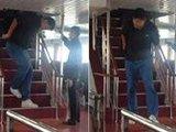 姚明台湾乘游船显尴尬:太憋屈