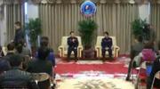 航天员景海鹏、陈冬结束隔离 首次公开亮相