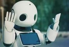 机器人走进北京电视台 尽显文化和科技