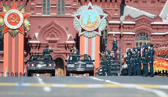 俄罗斯纪念卫国战争胜利70周年阅兵式