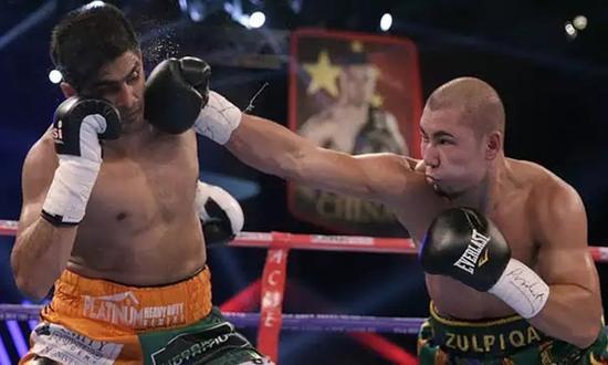 中印拳王争霸赛:印度拳王舍金腰带欲