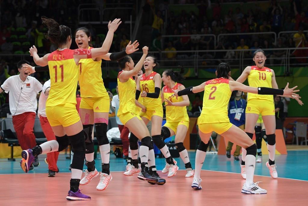 霸气归来 里约奥运中国女排强势夺冠精彩瞬间回顾