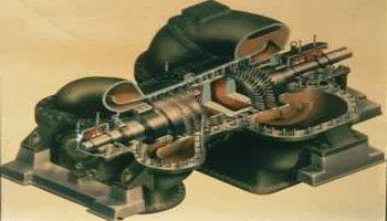 分类按气体流动方向的不同,透平压缩机主要分为轴流式和离心式两类.图片