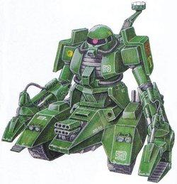 MS-06V-6扎古坦克(绿猕猴)