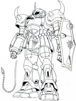 MS-07古夫(Origin)