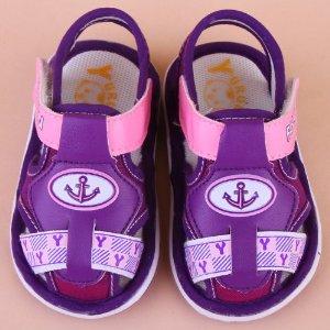 雨茹儿夏季凉鞋 叫叫鞋男女宝宝鞋子婴儿鞋学步鞋