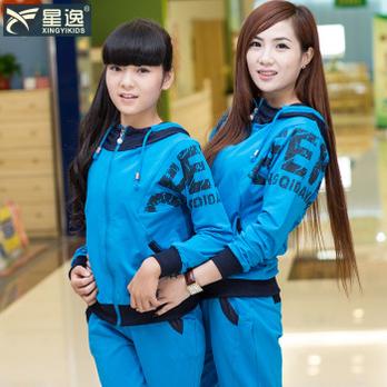 童装女童套装春秋装2014新款12-13儿童服装