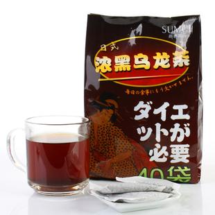 尚客茶品 浓黑乌龙茶 5克*40包 天然健康茶饮