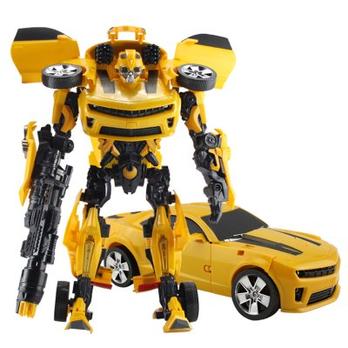 大号大黄蜂变形金刚汽车人玩具