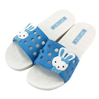 快鹿女款凉拖鞋可爱小兔防滑厚底家居家凉拖鞋夏季