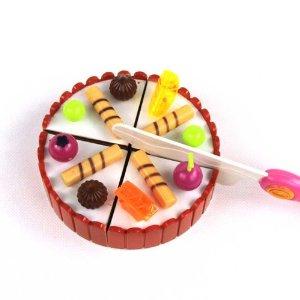仿真生日蛋糕模型组合