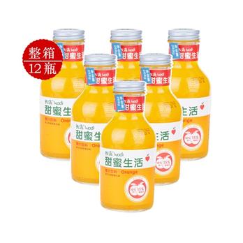 生活橙汁图片_
