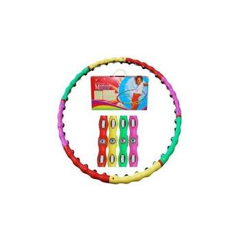 博宇皮套带磁珠按摩呼啦圈/减肥瘦身呼啦圈A按摩器滚轮加工图片