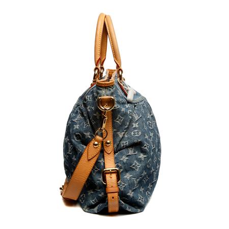 牛仔布女士两用包