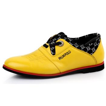 保罗骑士(palmpolo)时尚潮流男鞋日常休闲商务皮鞋