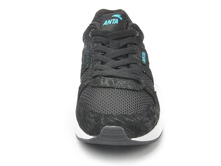 安踏 男式 英伦格调透气网面耐磨休闲运动鞋