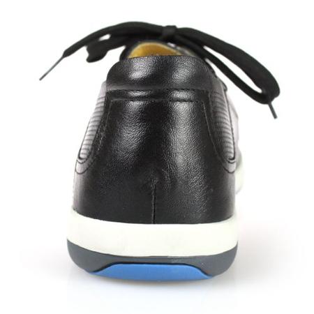 yearcon意尔康男鞋真皮皮鞋商务休闲系带单鞋1az-10