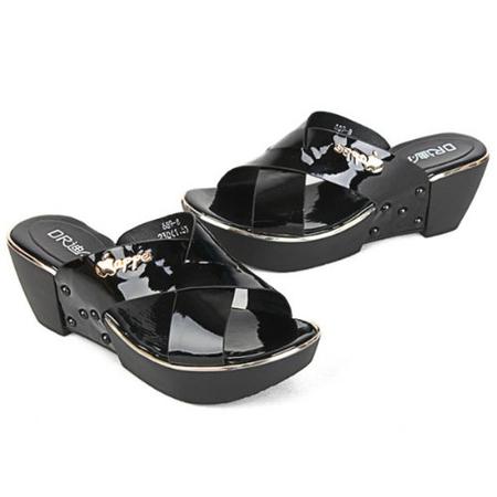 迪尔lq43 女凉拖鞋