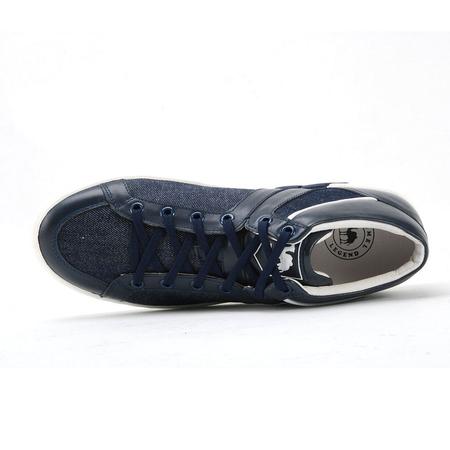 系带时尚休闲男士皮鞋