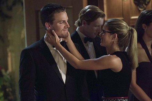 《绿箭》第四季期待奥利弗与费莉希蒂勤于滚床单吧~