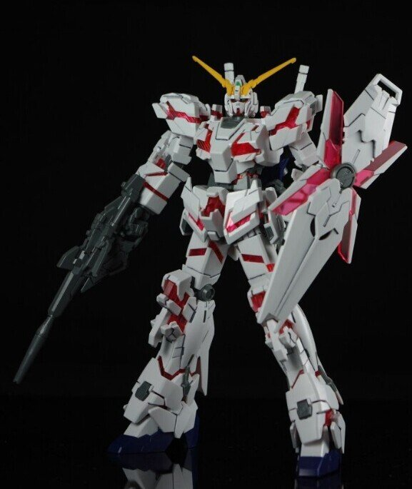 HGRX-0独角兽高达毁灭模式+头像支架