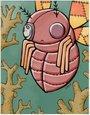 赤苍蝇卡片