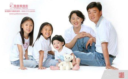 西安雅典娜儿童摄影全家福拍摄套餐【2.3折】