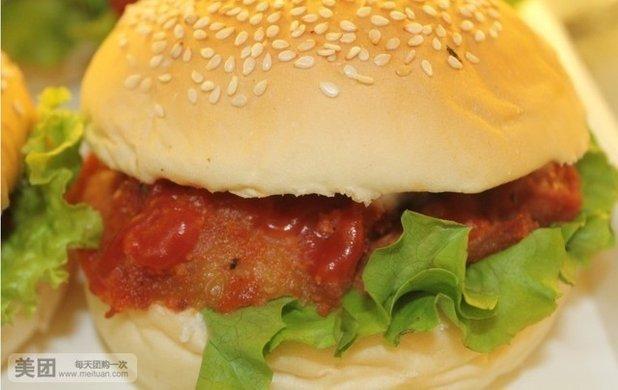 小王子烤堡机奥尔良烤鸡腿堡烤堡奥尔良烤鲟鱼堡