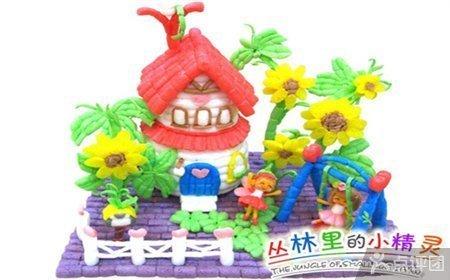幼儿园diy手工立体动物玩具儿童制作创意