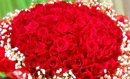 长气球造型玫瑰花怎么做图解展示
