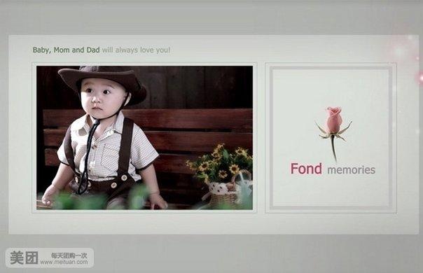 儿童写真套系,让爱伴随孩子的健康成长