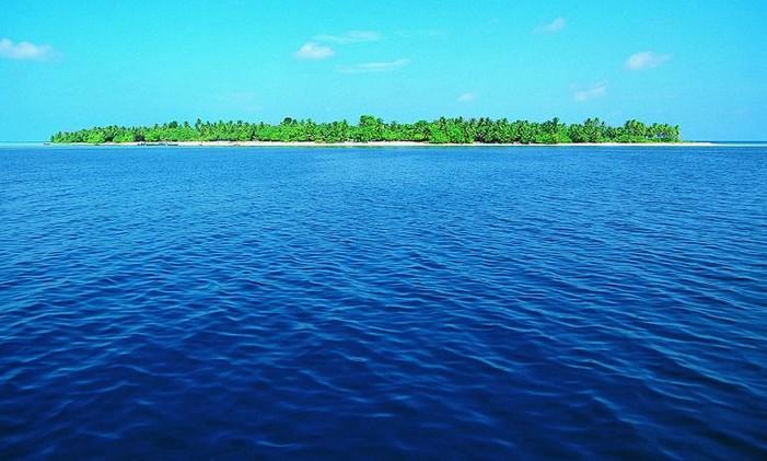 童水粉画风景大海