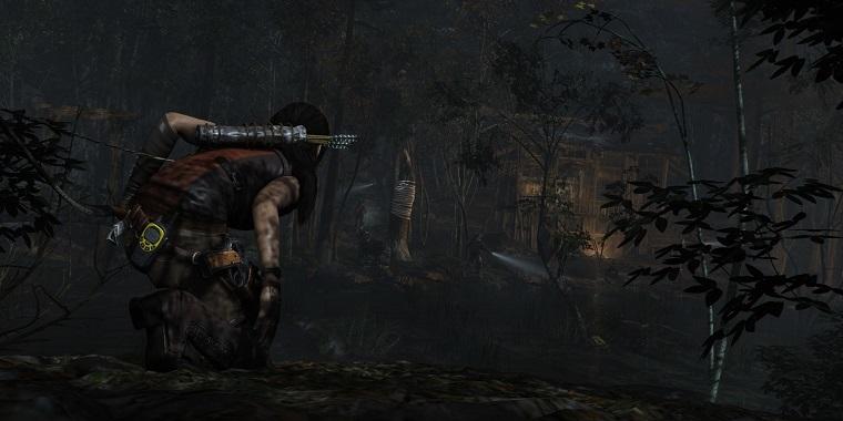 《古墓丽影:崛起》游戏截图