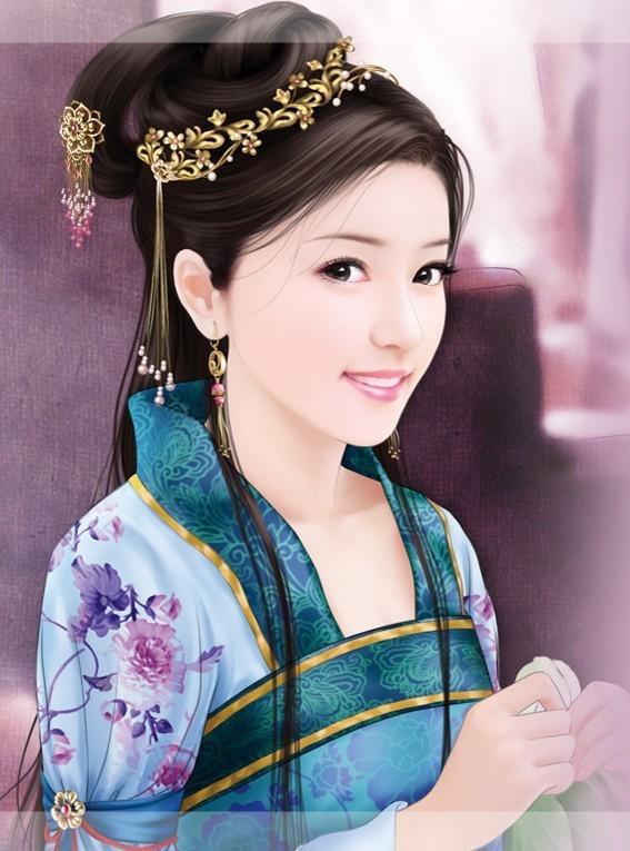 求古代美女丹青图 360问答
