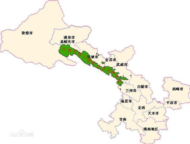 什么是甘肃省面积最大的森林生态系统和野生动物类型