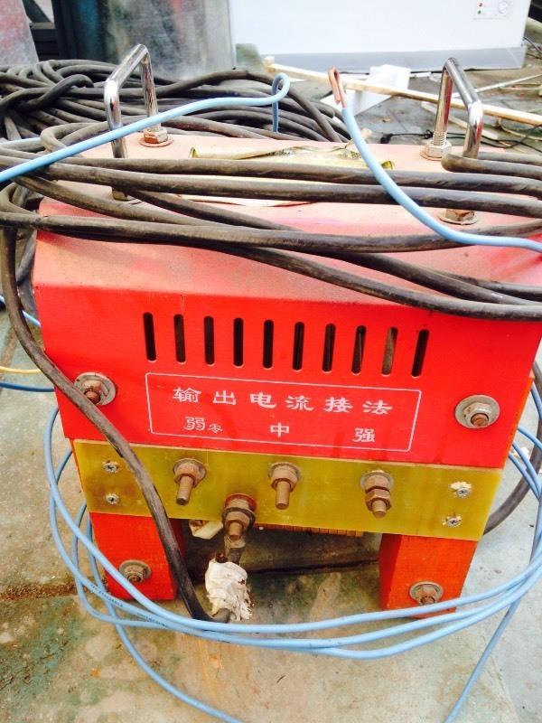 有图提问:电焊机接线问题