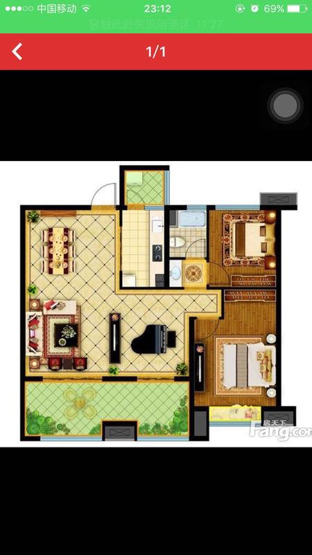 农村两间房屋户型设计图展示