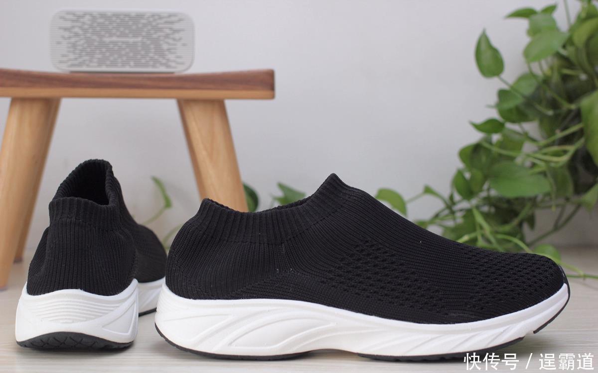 小米有品上架gts舒适袜套休闲鞋,飞织工艺,可替代凉鞋