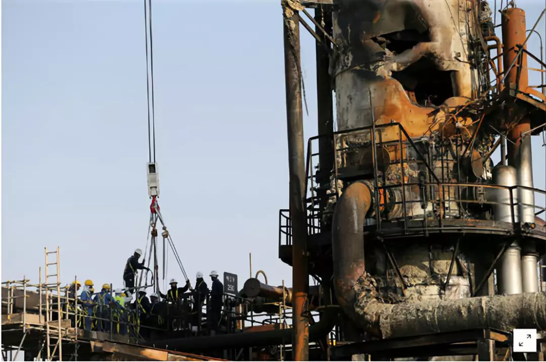 9月沙特石油遭袭,美对伊发动网络攻击