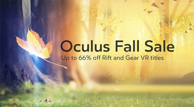 Oculus Home游戏大促销 20款游戏最低只有3.4折