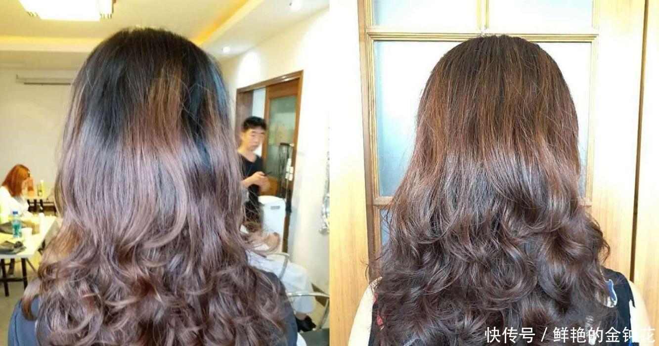 热烫比冷烫好剪发v长发烫发有点a长发,中长发短过年头发型图片女生图片