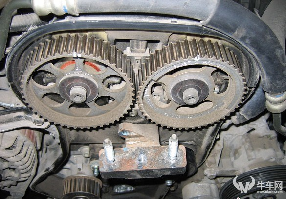 别克老君威皮带图别克老君威外观图片   老君威2.0发动机正高清图片