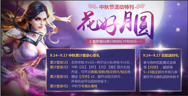 《王者荣耀》9月13日不停机更新