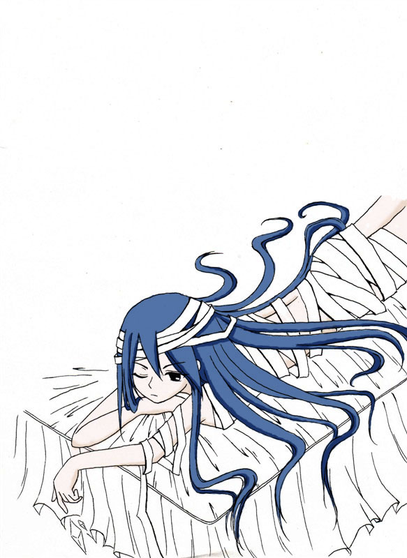 美少女战士冷冰月手绘