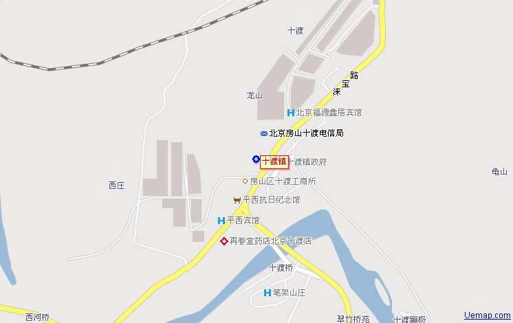 社区规划 编辑本段 十渡镇政府设在十渡风景区内的十渡村,辖21个