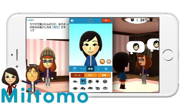 任天堂首款手游《Miitomo》用户量突破100万