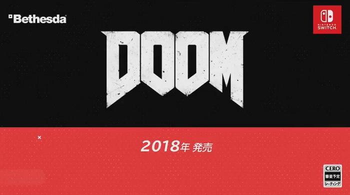 任天堂新作登陆Switch 《毁灭战士4》与《德军总部2新巨人》