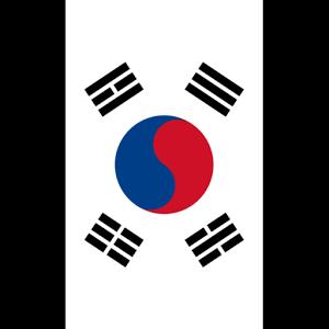 韩国国旗贴纸