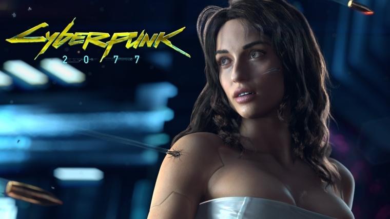 《赛博朋克2077》宣传海报