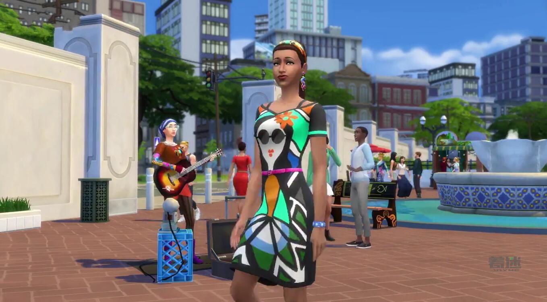 《模拟人生4》城市生活DLC